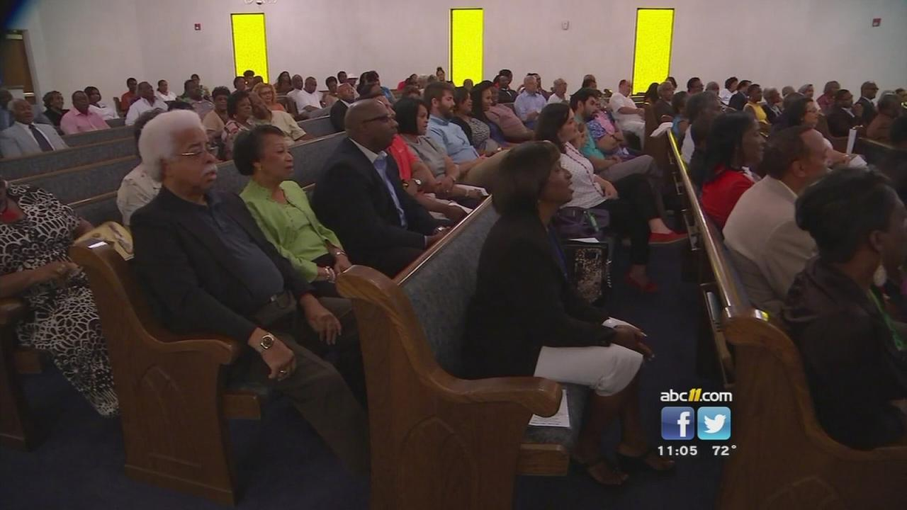 Vigil for Charleston victims held in Rocky Mount