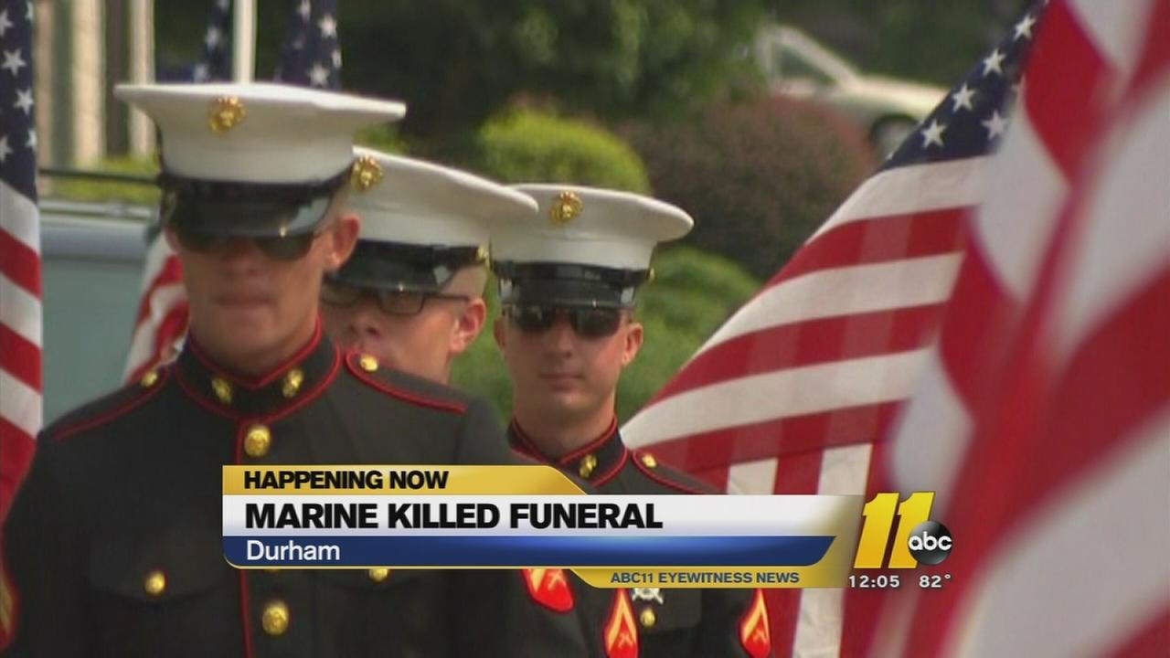 Marine funeral