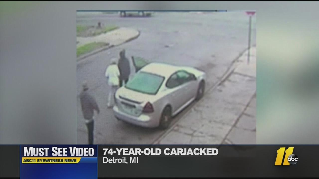 Must-See Videos: Thugs carjack 73-year-old
