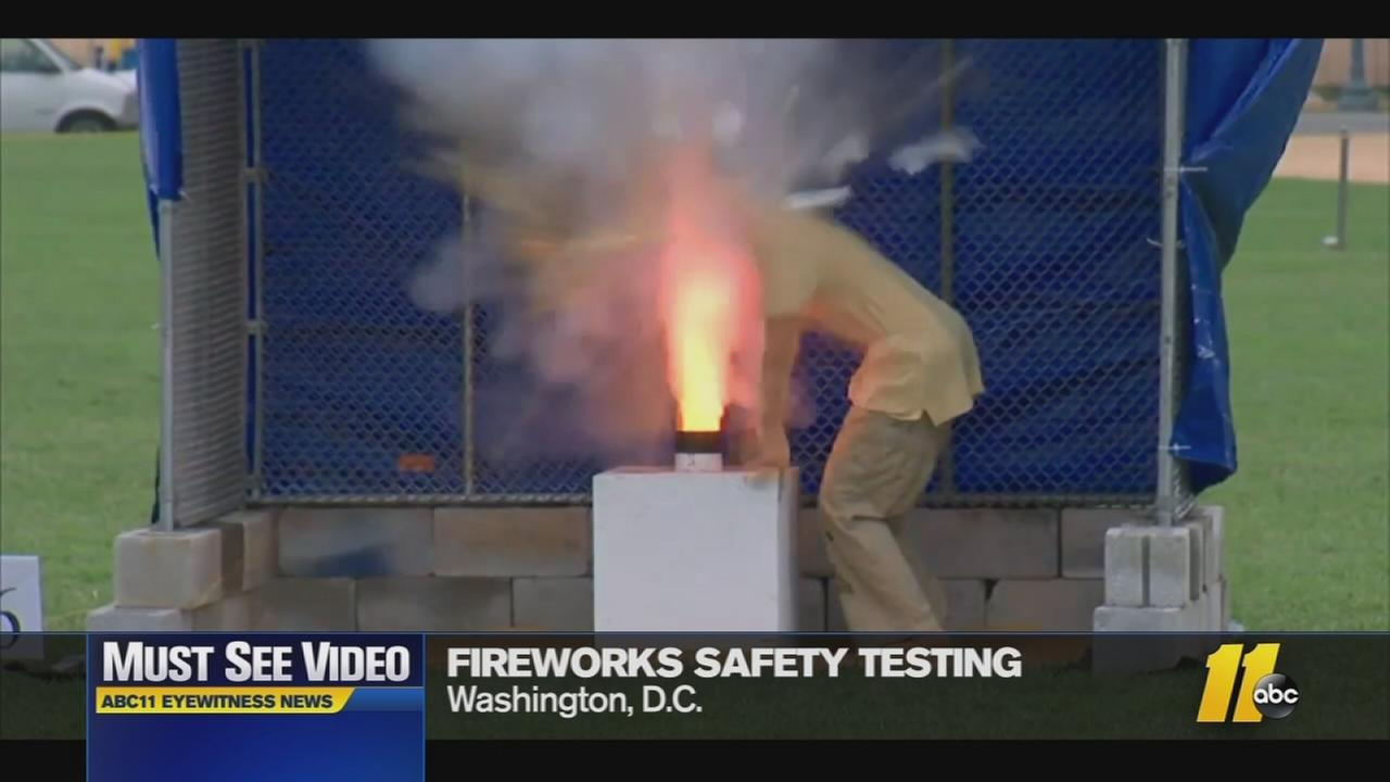 Must-See Videos: Extreme fireworks demonstration
