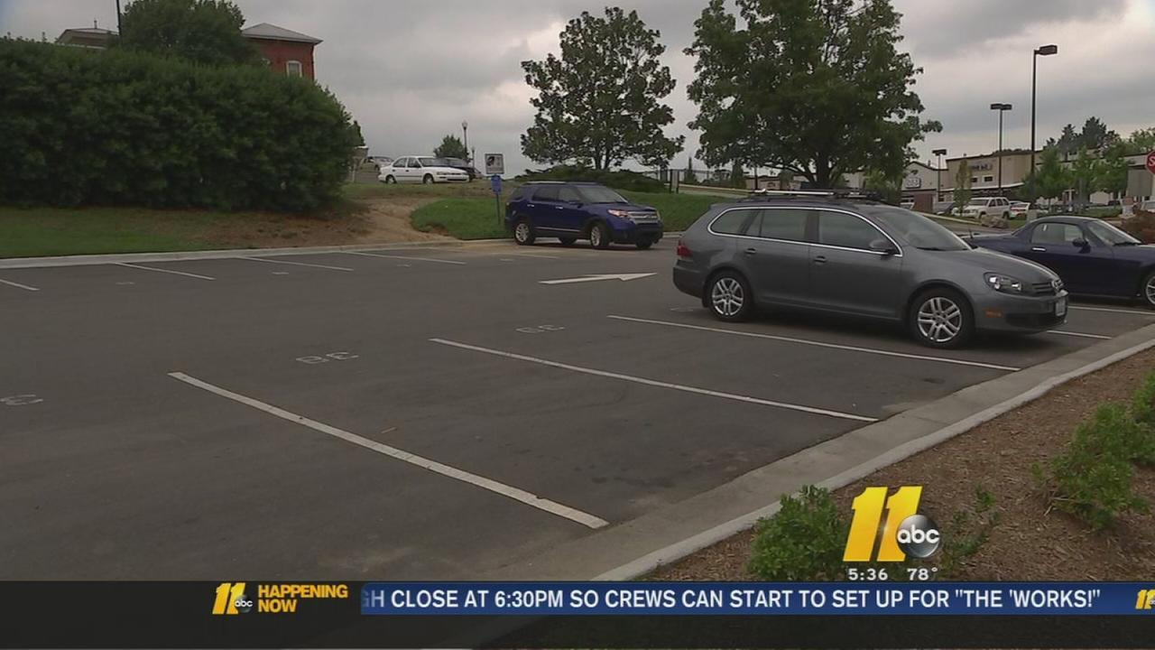 Parking lot problem on Ninth Street in Durham