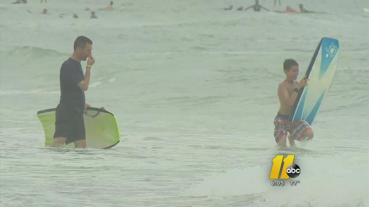 Whats causing shark attacks along North Carolina coast?