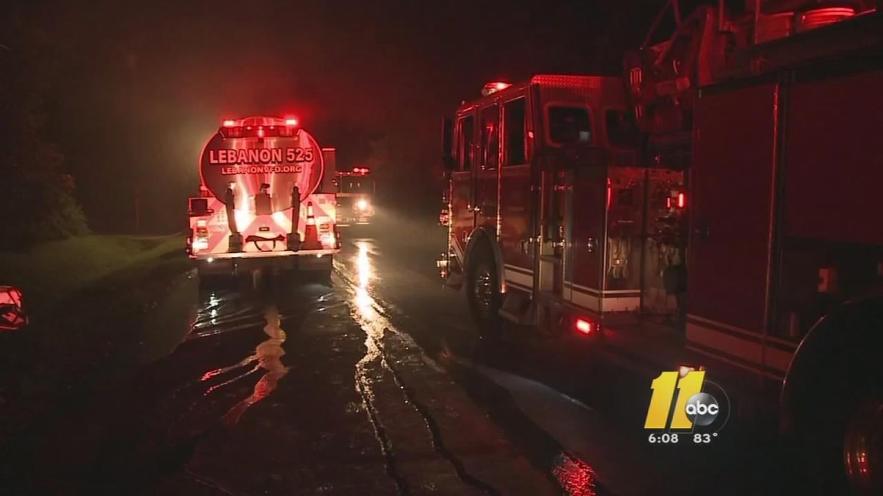Woman dies after fire