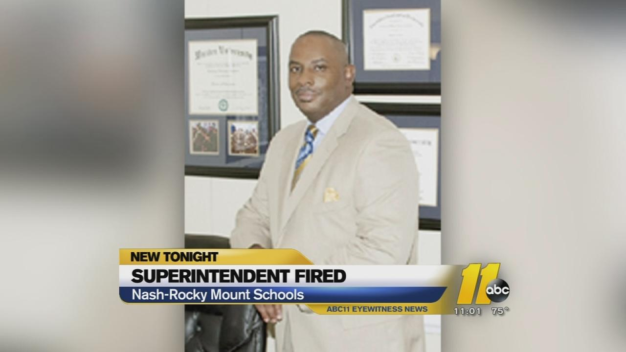 Nash-Rocky Mount superintendents resignation draws criticism -- Dr. Anthony Jackson