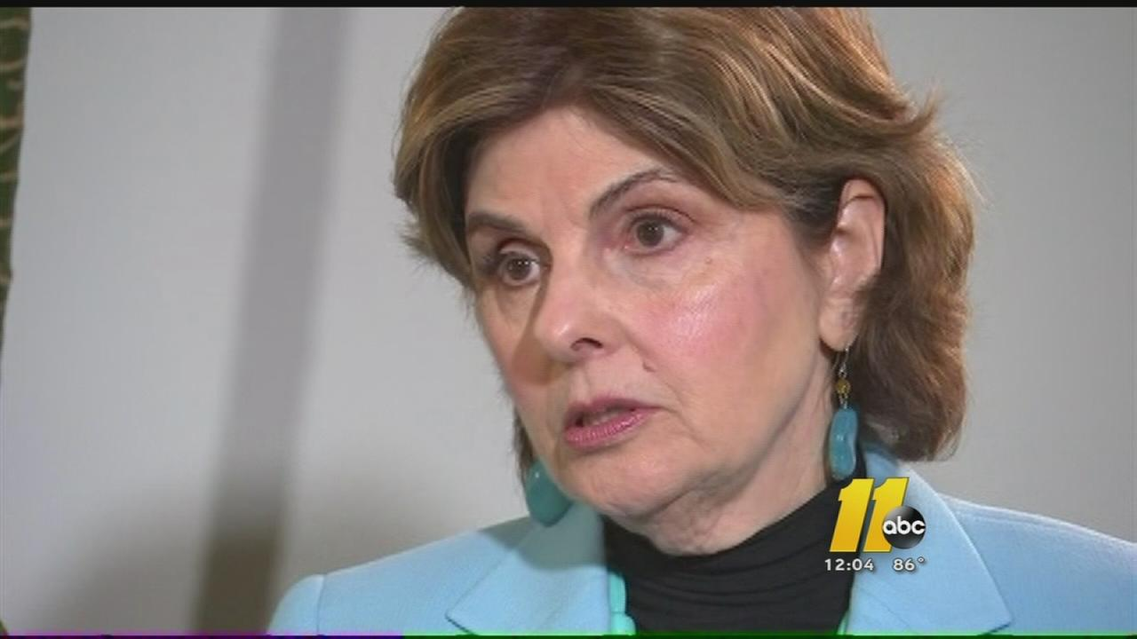 Gloria Allred reacts to Bill Cosby Admission