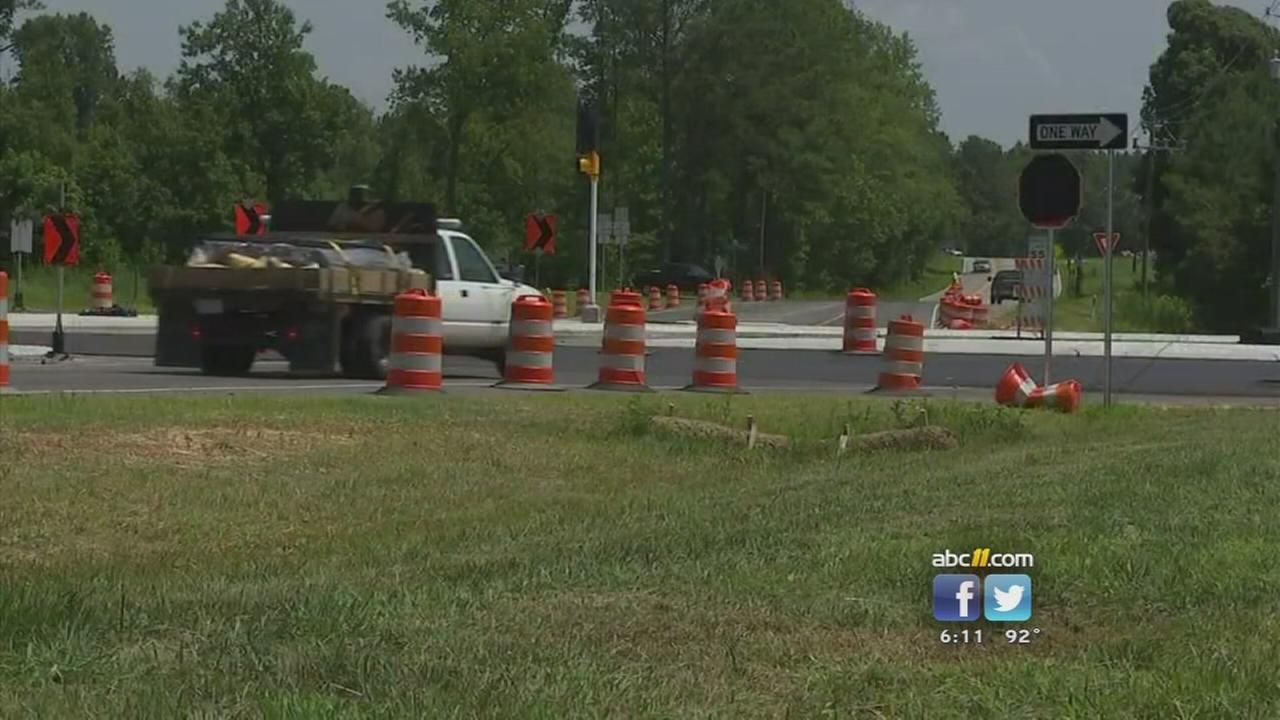 Rolesville intersection that mayor says needs a traffic light.