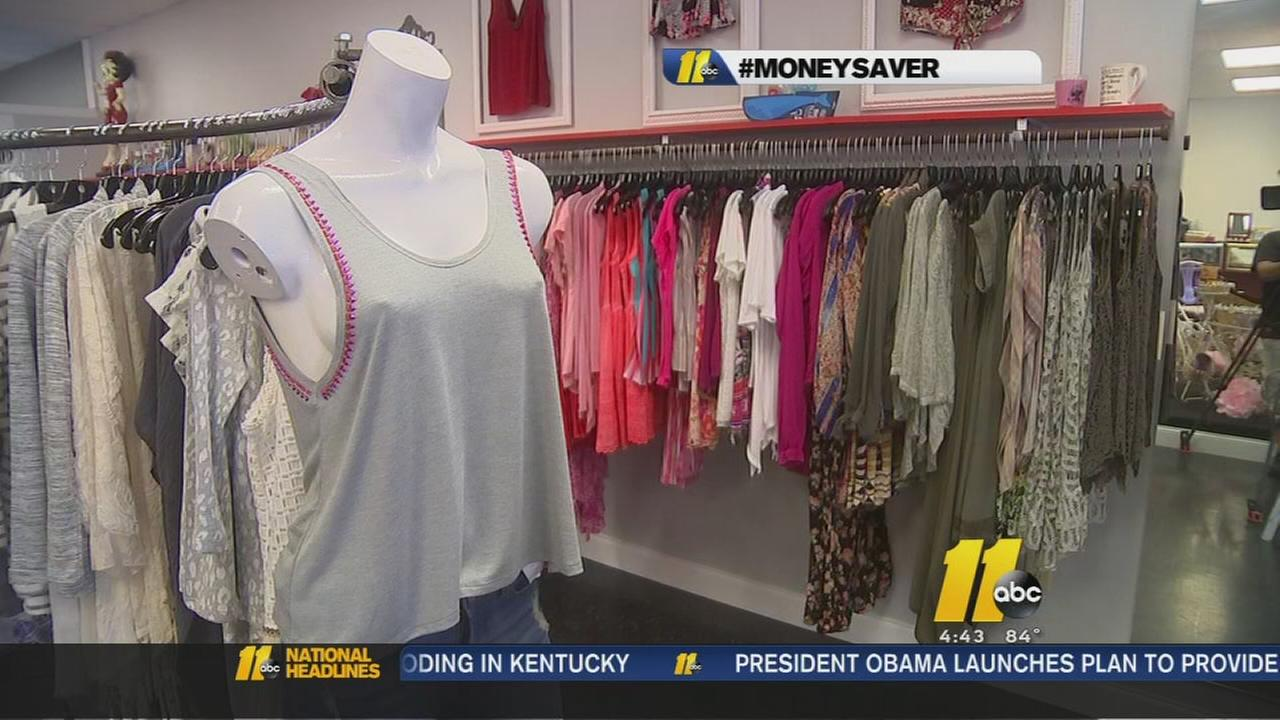 Stores sell surplus at Boutique Blowout