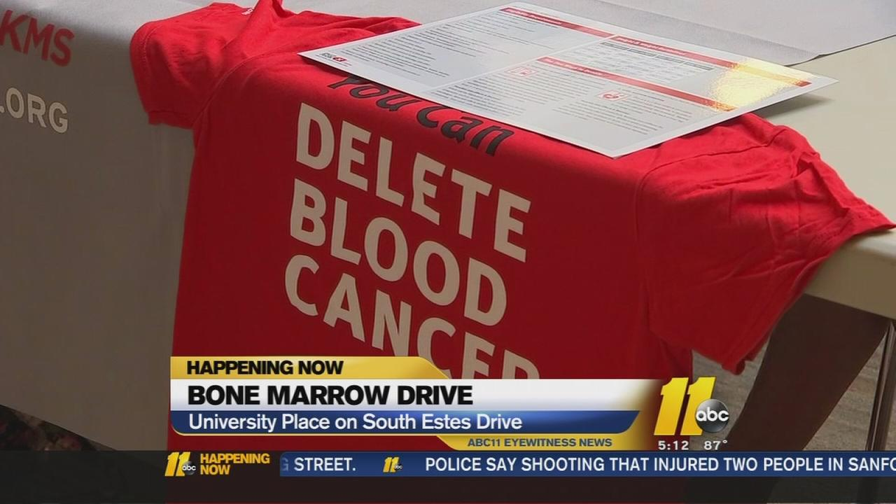 Bone marrow drive held in C.H.
