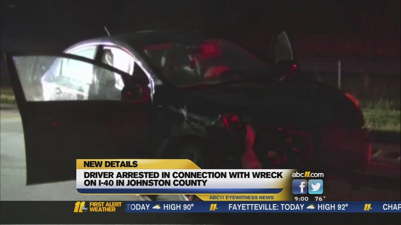 Woman charged with DWI after I-40 crash