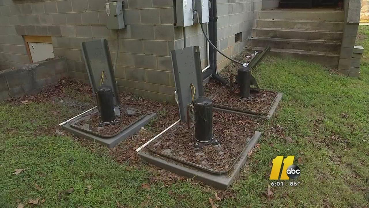 AC units stolen, damaged at 2 Chatham County churches