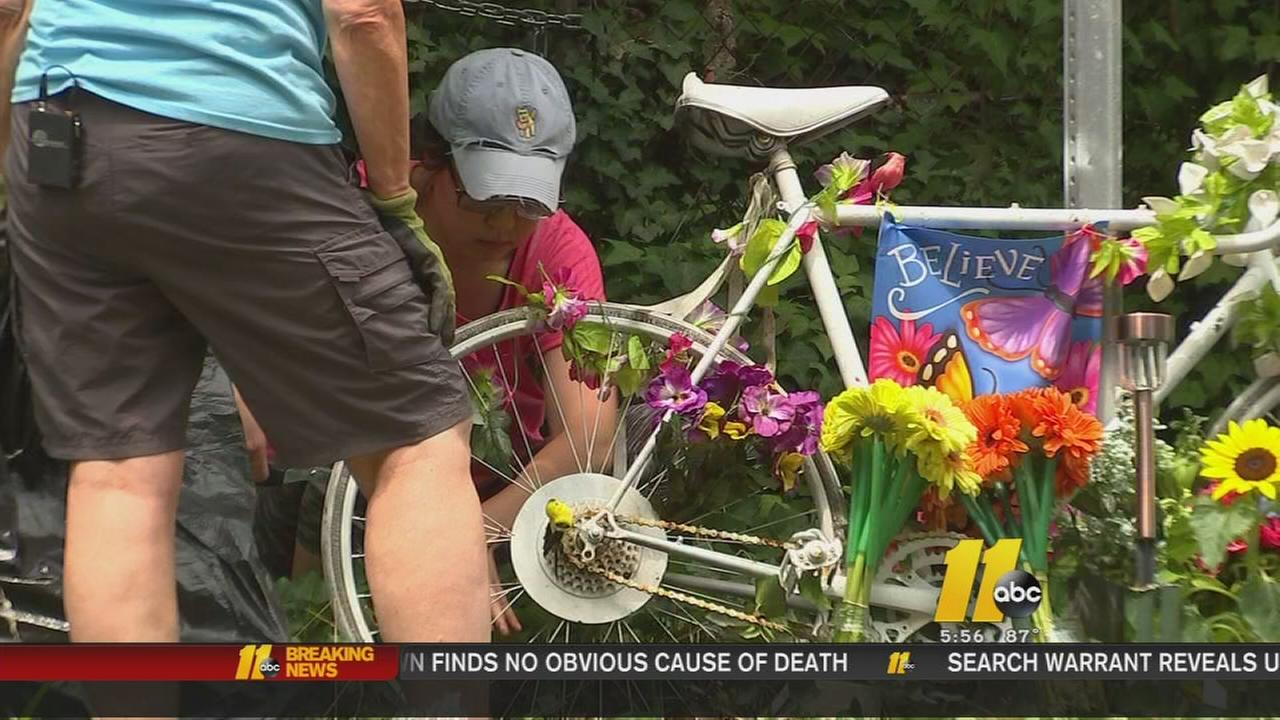 Ghost bike for Seth Vidal