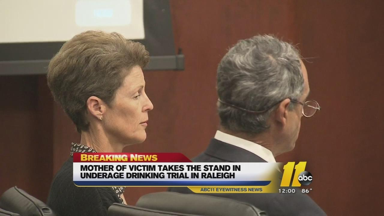 Parents accused of aiding underage drinking on trial