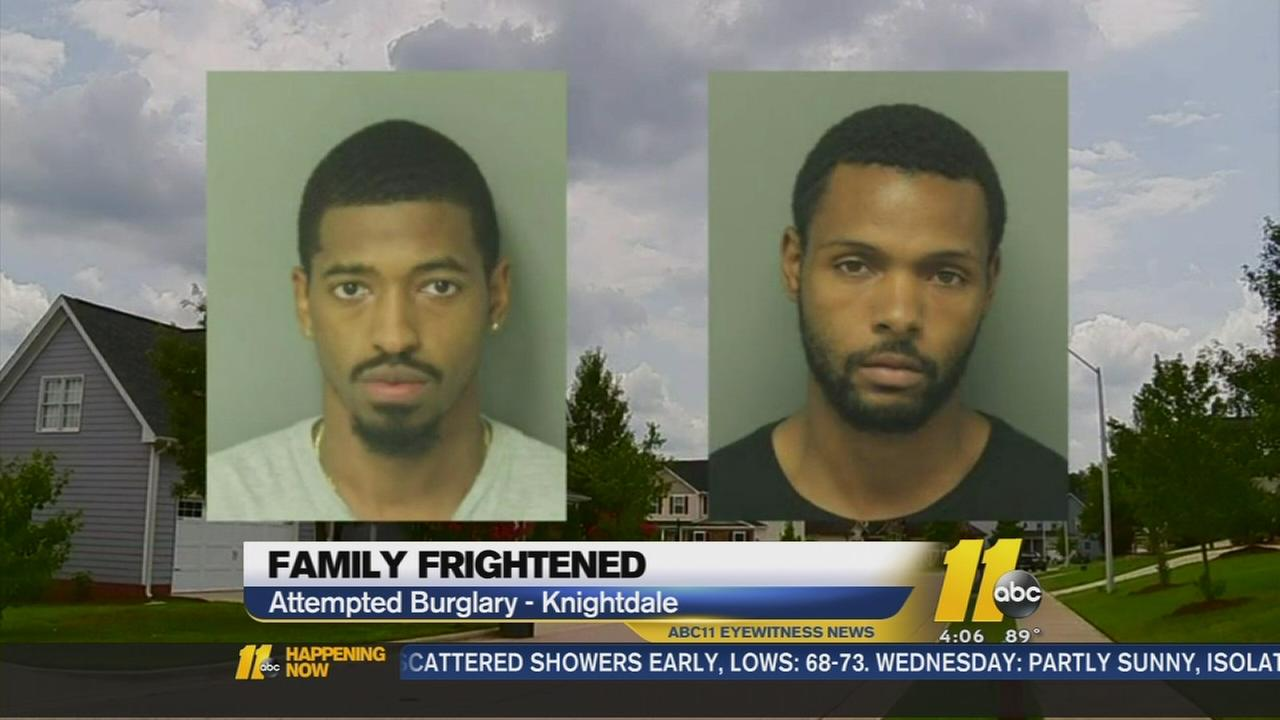 Family frightened in Knightdale