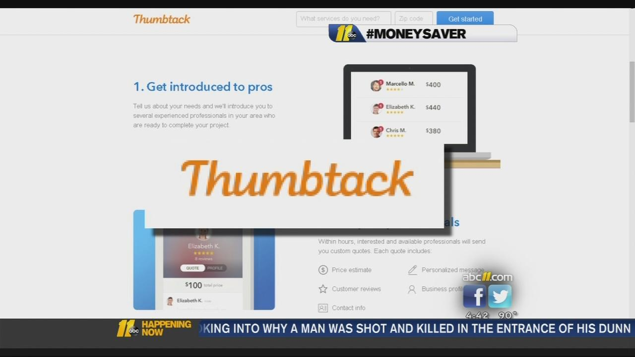 Using Thumbtack to save on jobs