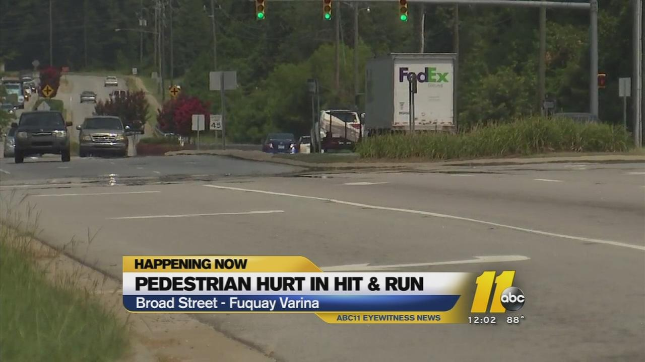 Pedestrian struck in Wake County