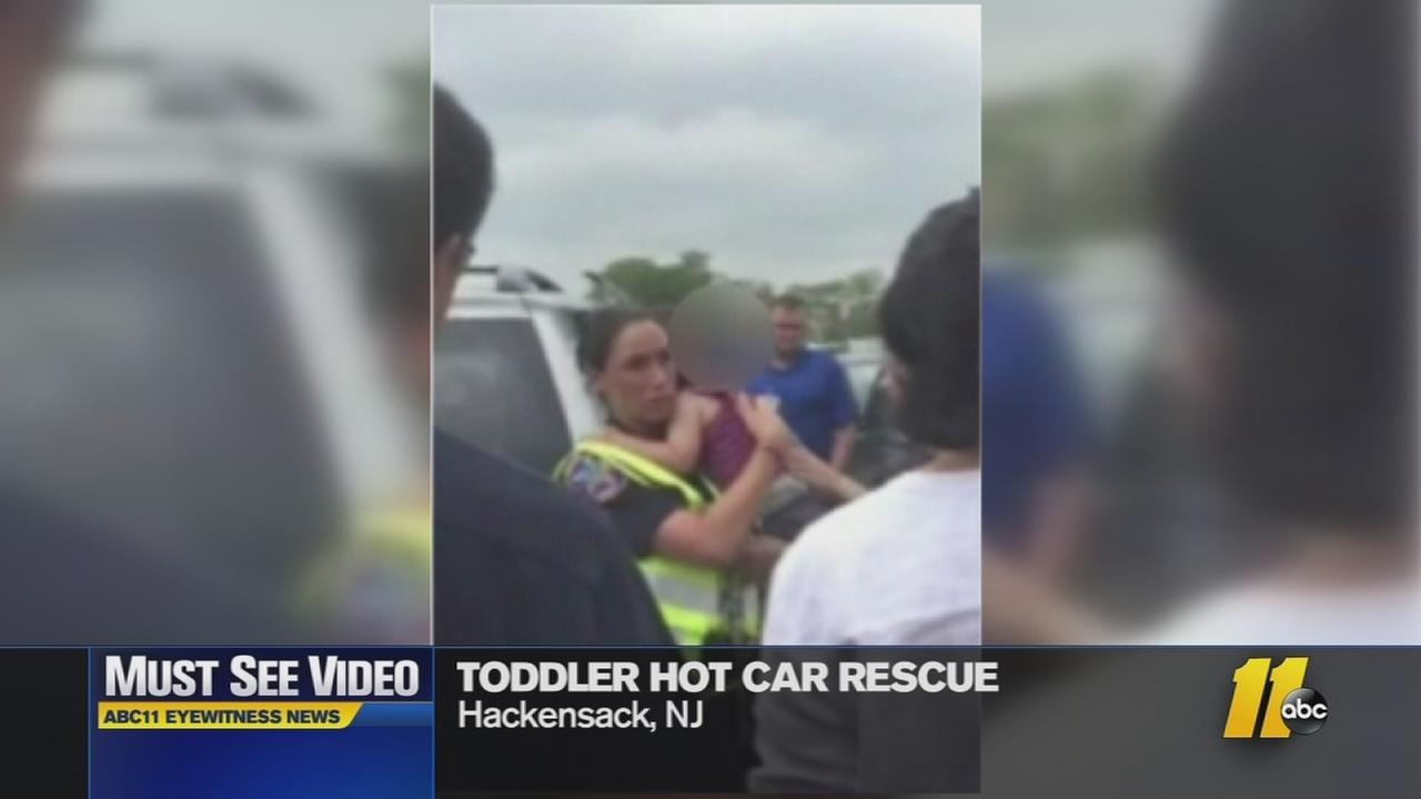 Must-see video: Two hot-car rescues