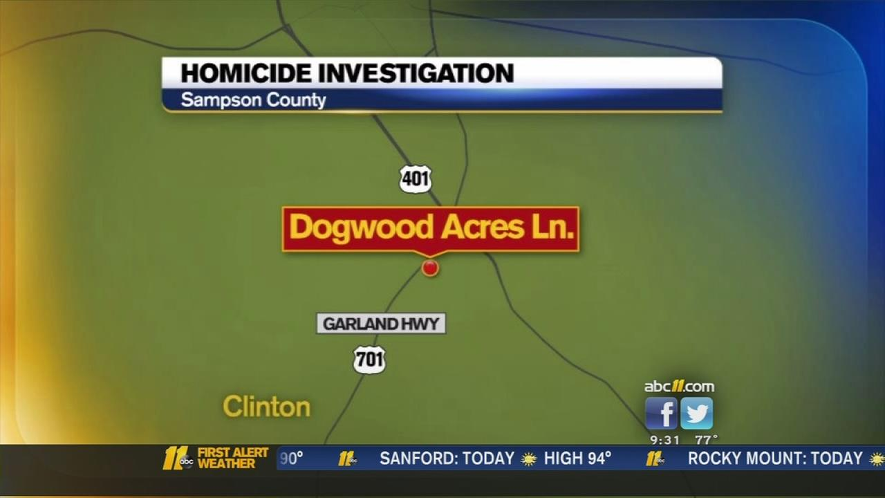 Homicide investigation in Sampson County