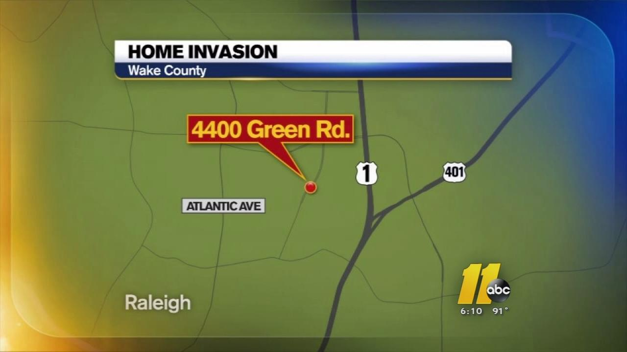 Man shot during home invasion