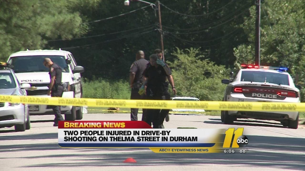 2 poeple shot in Durham