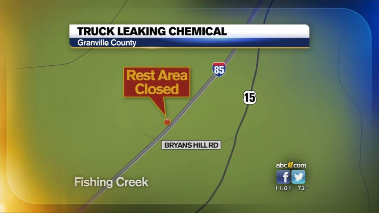 Hazmat situation in Granville Co.