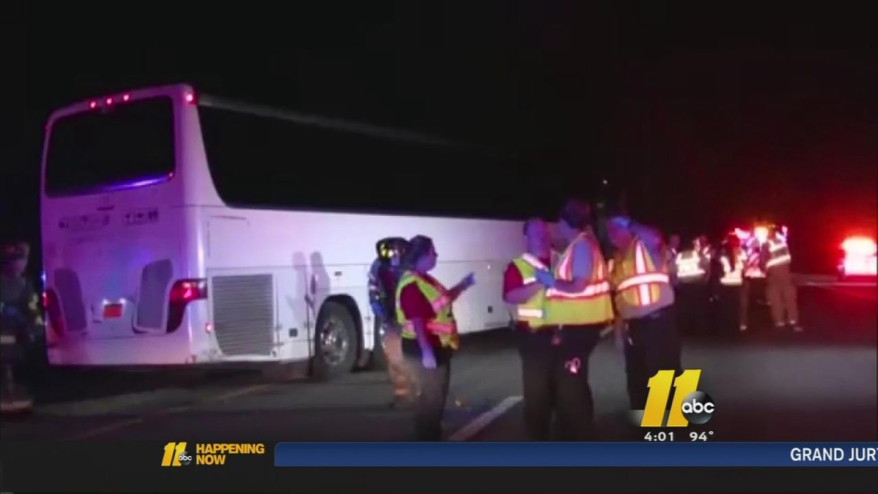 Charges filed in fatal I-95 bus crash