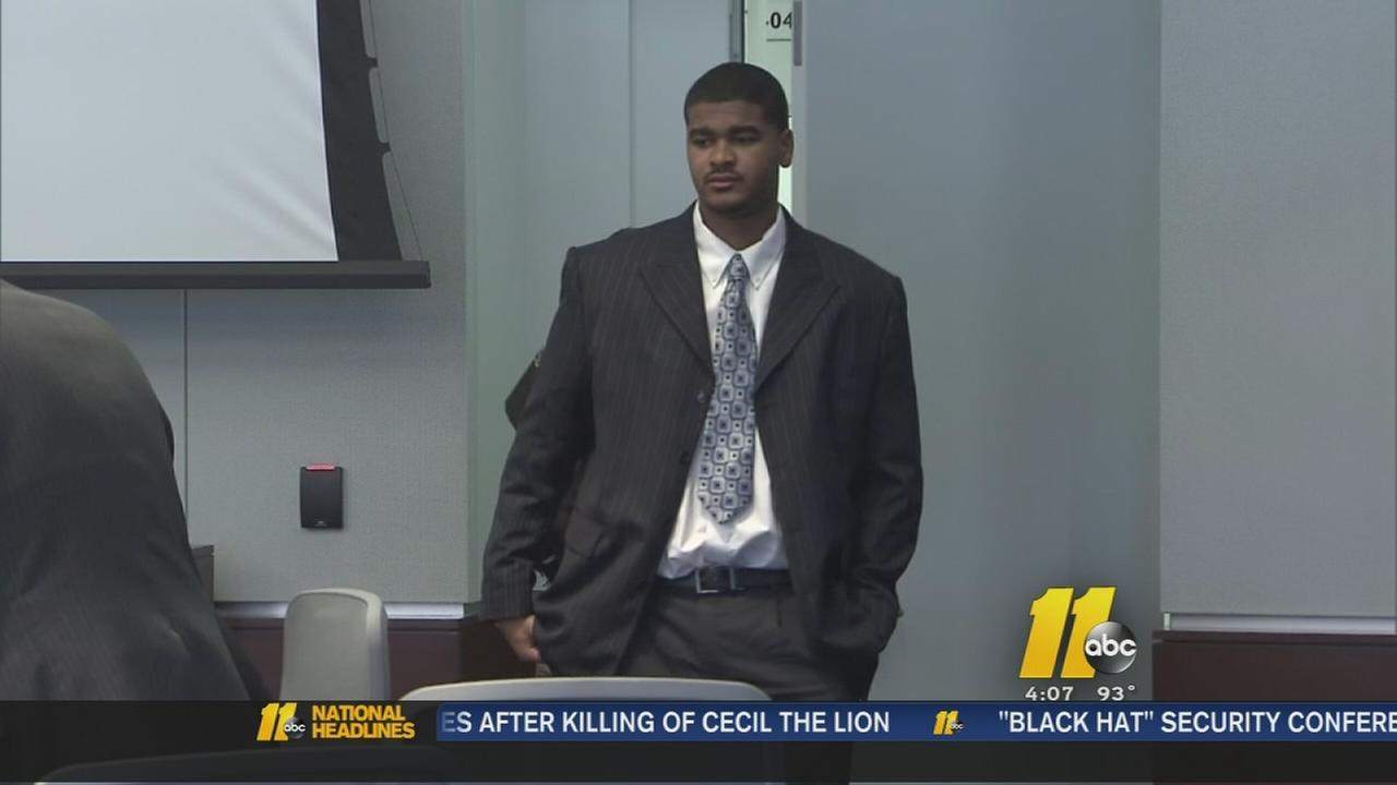 Man accused of shooting Durham police officer on trial