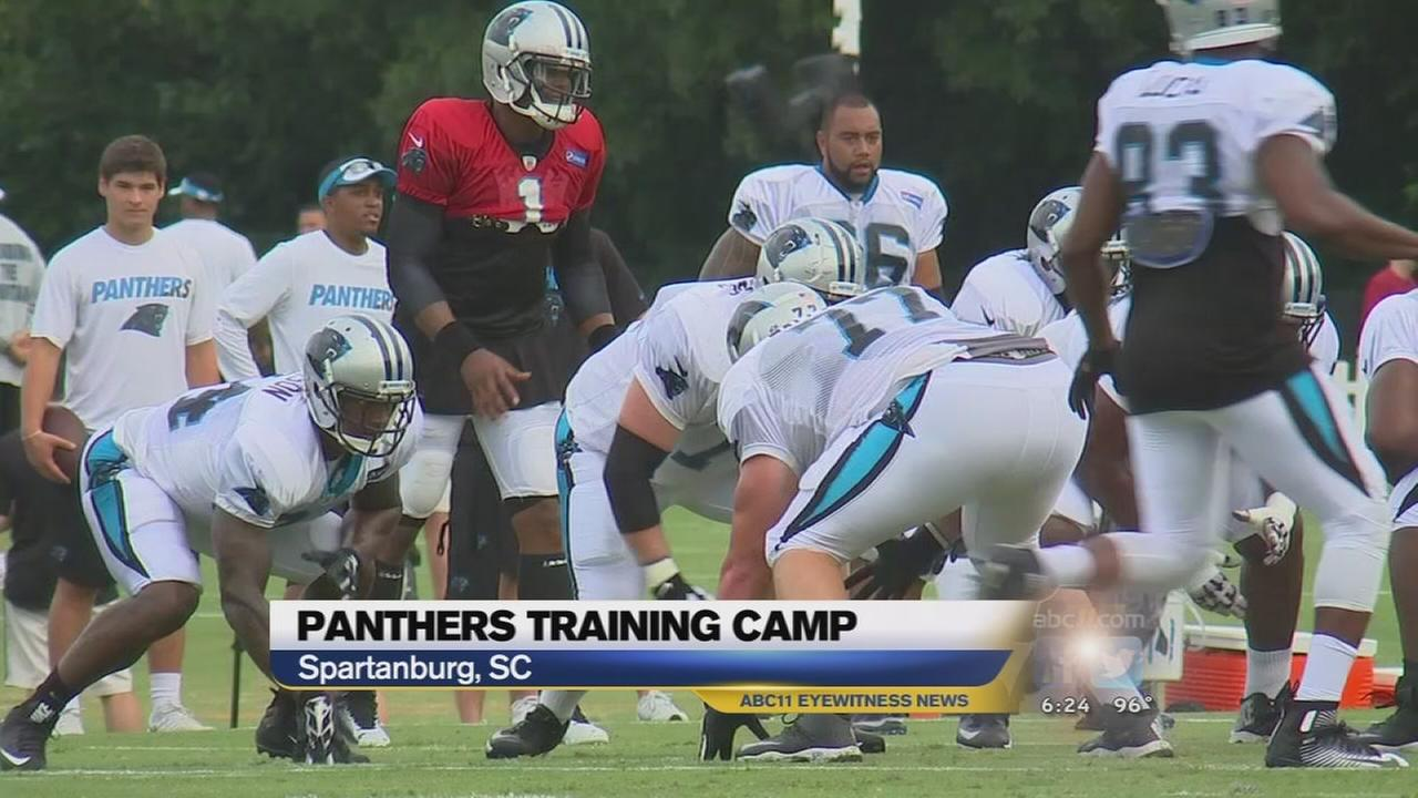 Panthers training camp