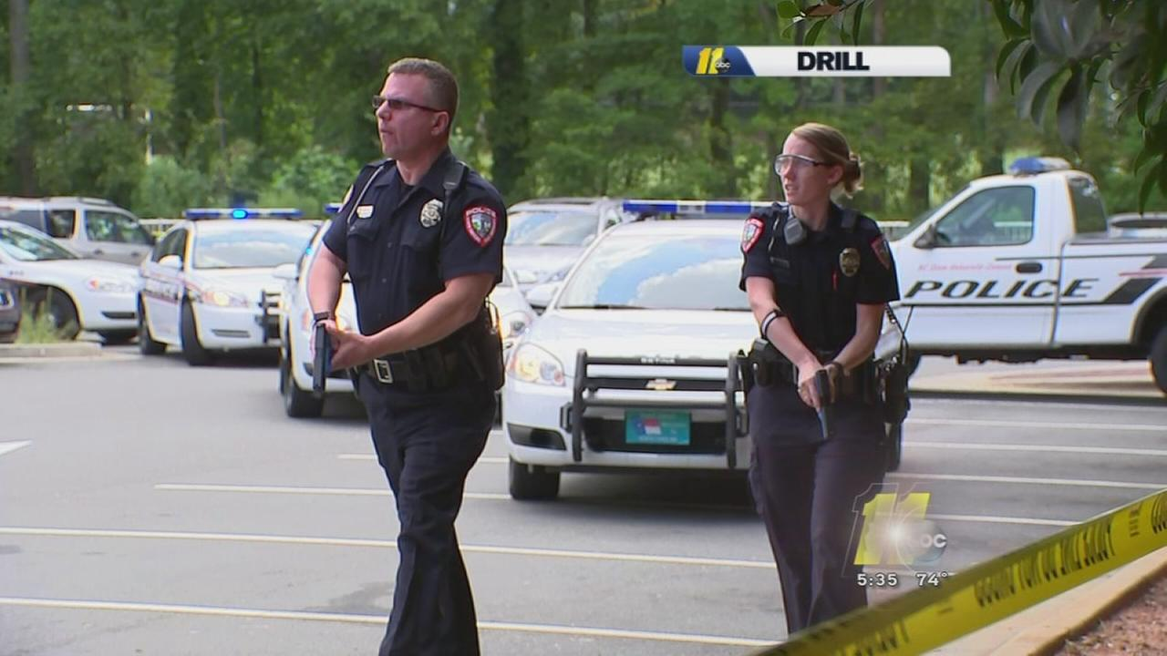 Schools hold active shooter drills