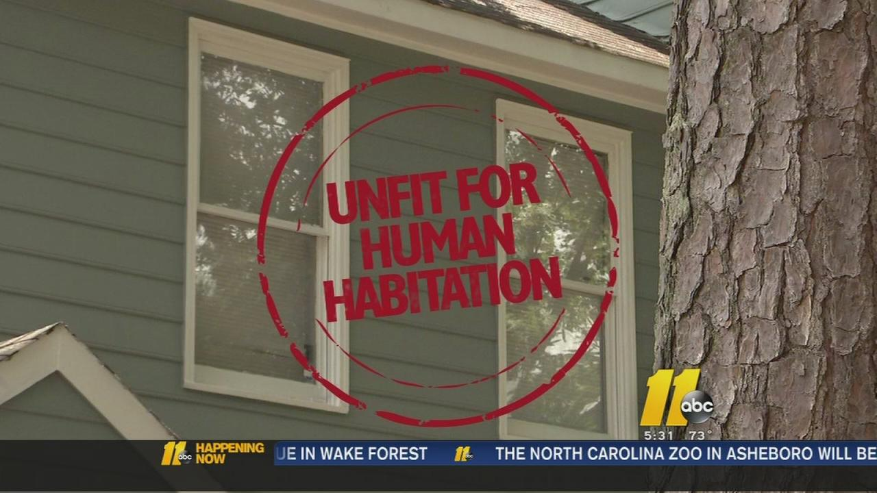 Tenants furious about unlivable homes