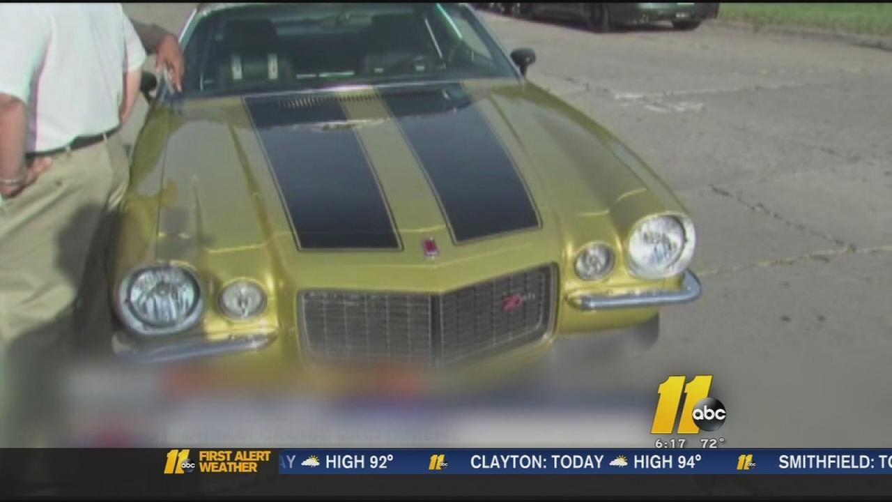 Papa Johns car stolen