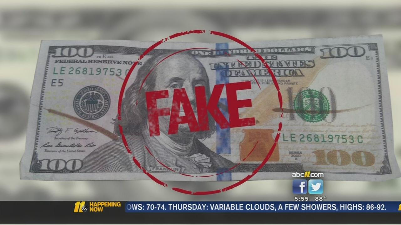 Counterfeit money problem grows in North Carolina