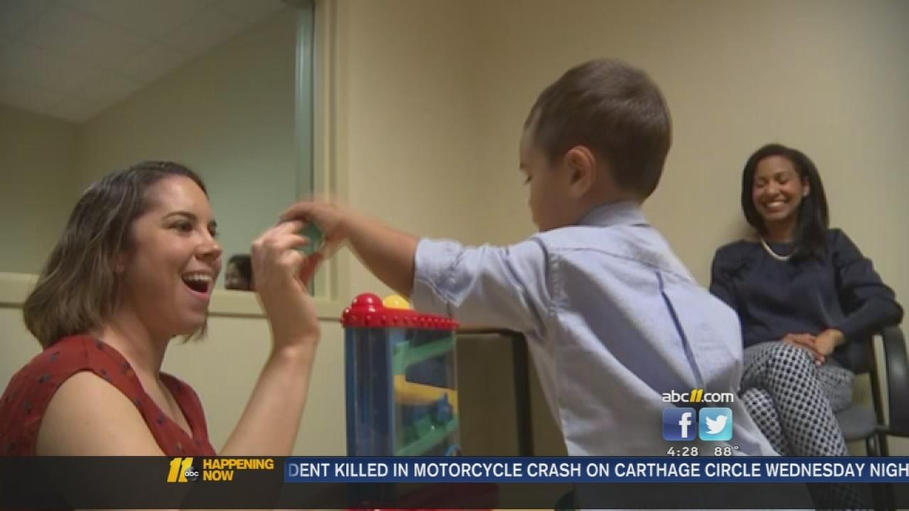 Raleigh parents find comfort in Duke care for autistic son