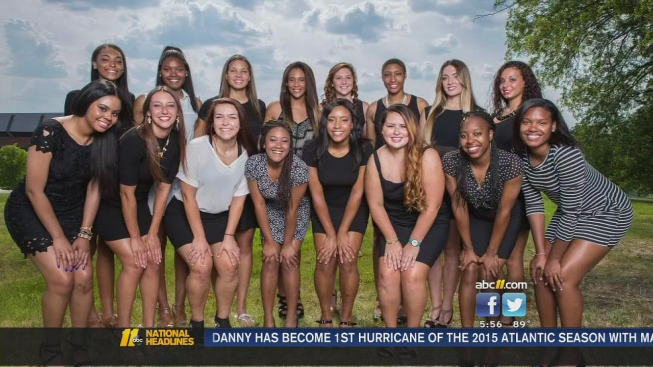 NCCU: Unconventional volleyball team pictures go viral