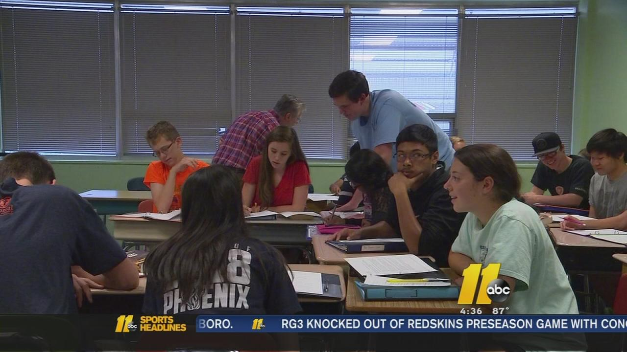 Raleigh school tops the charts