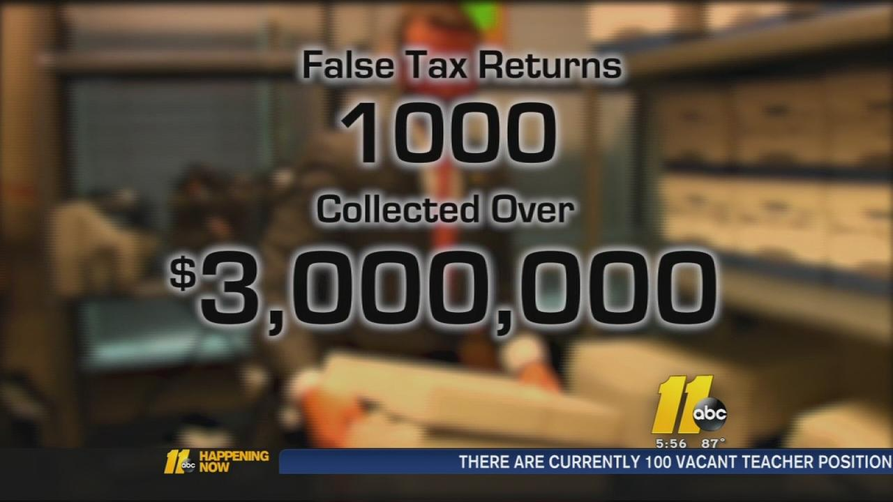 Con artists file fake tax returns
