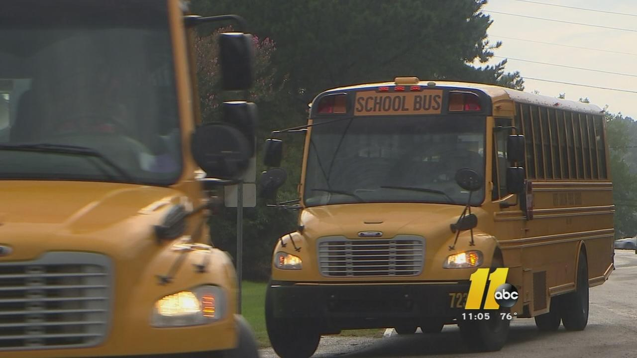 Parents report some school bus problems in Wake