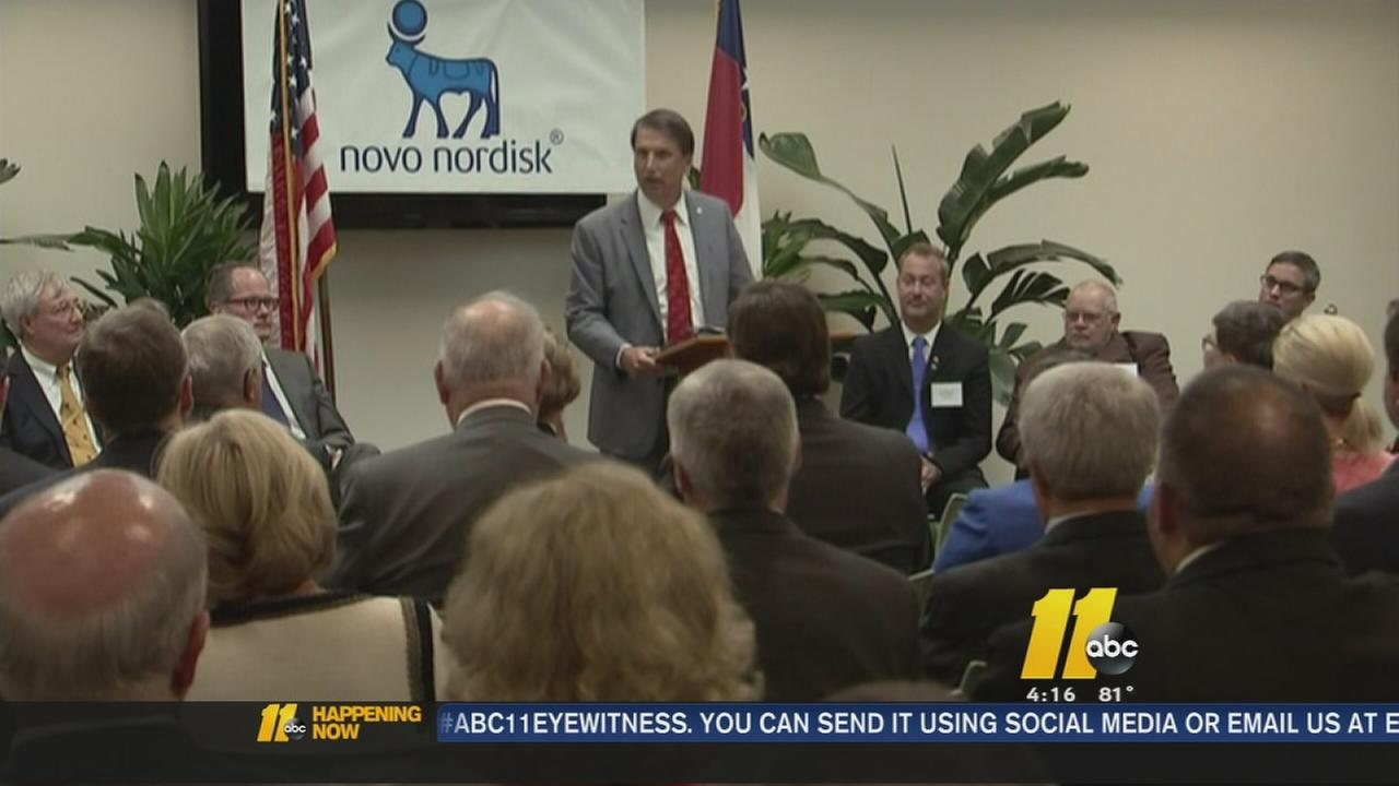 Pharmaceutical company Novo Nordisk to develop facility in Clayton