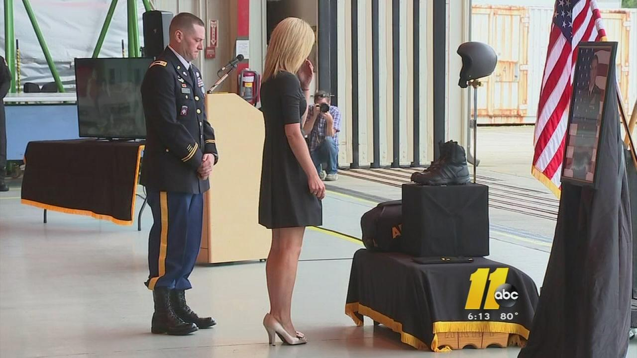 Fort Bragg parachutist remembered