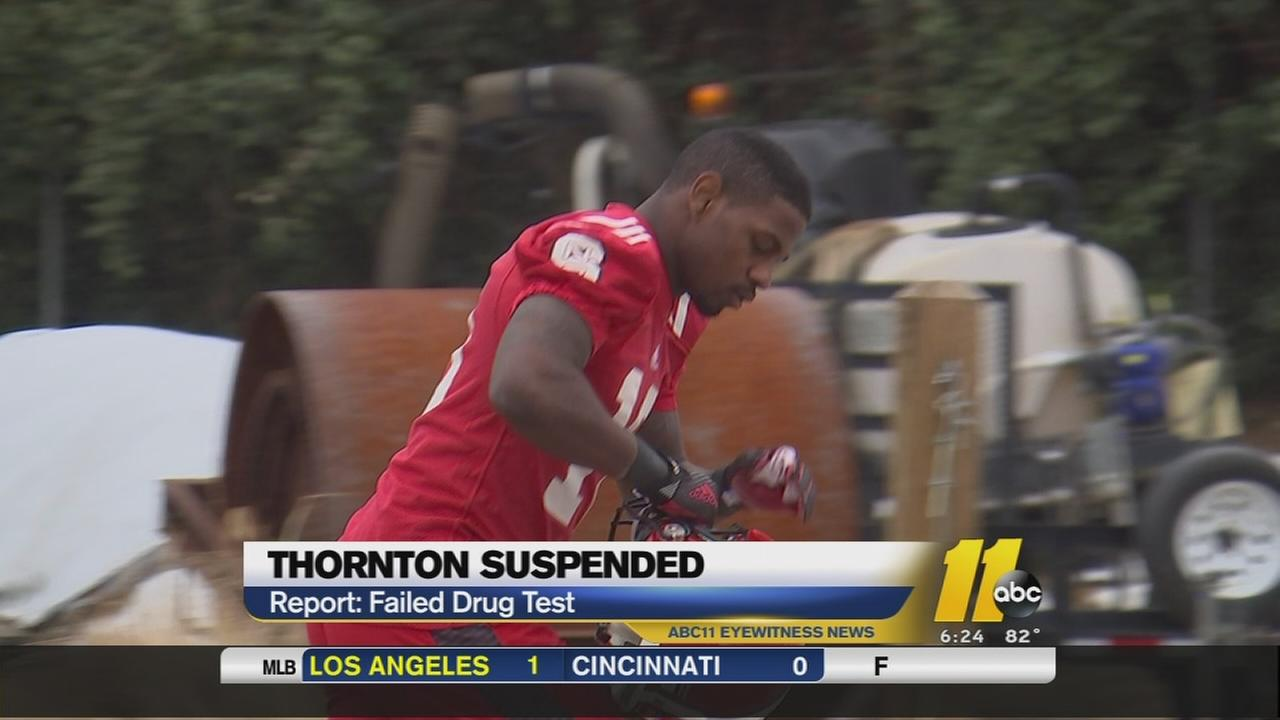 NCSU RB suspended for drugs