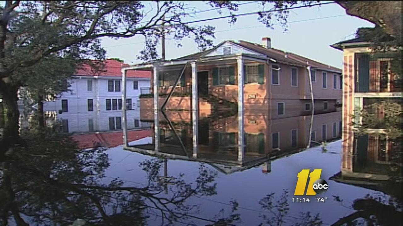 10 years on, family reflects on Hurricane Katrina
