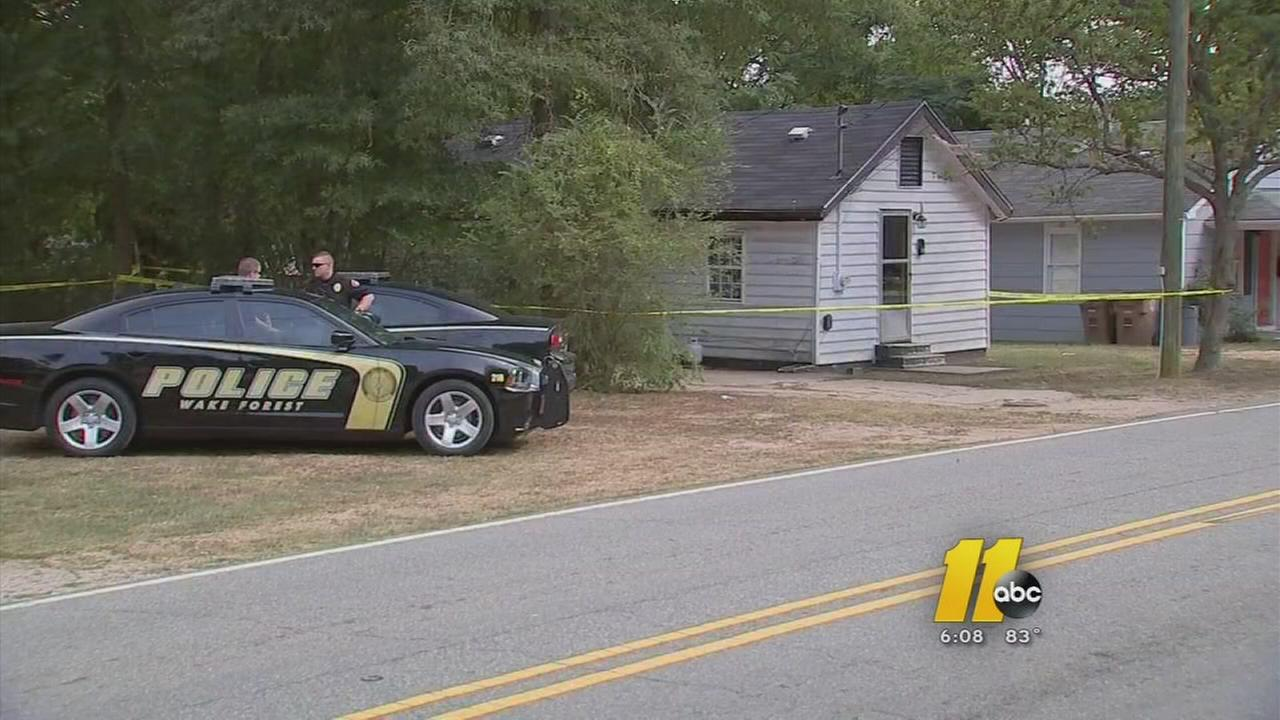 Man found dead in Wake Forest