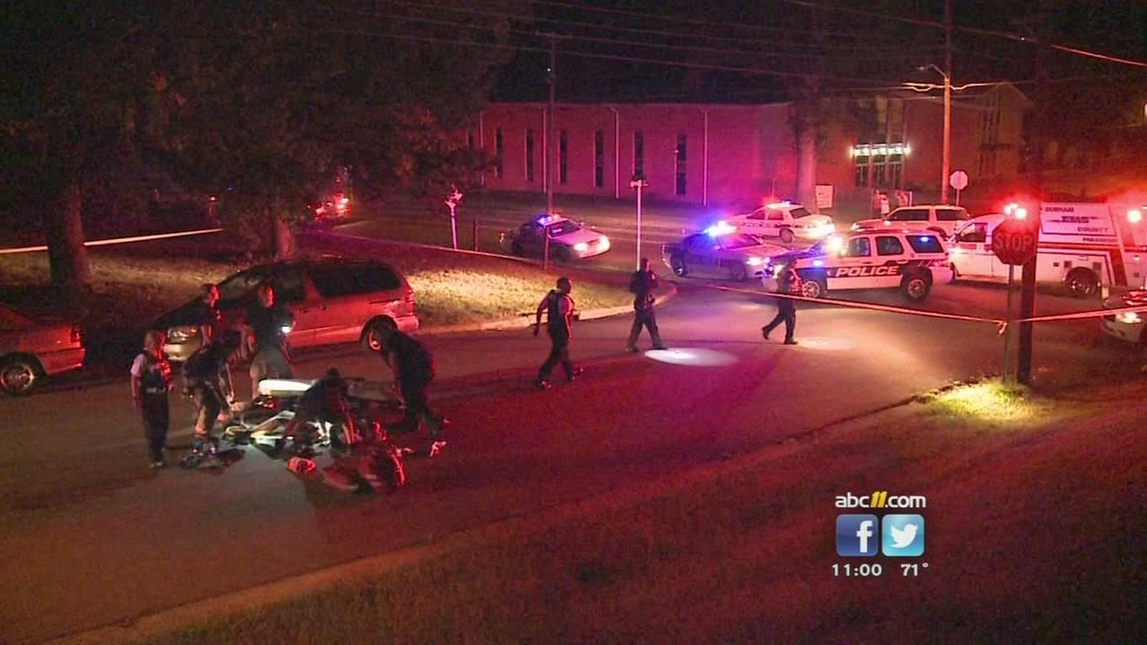 Man shot during cookout in Durham