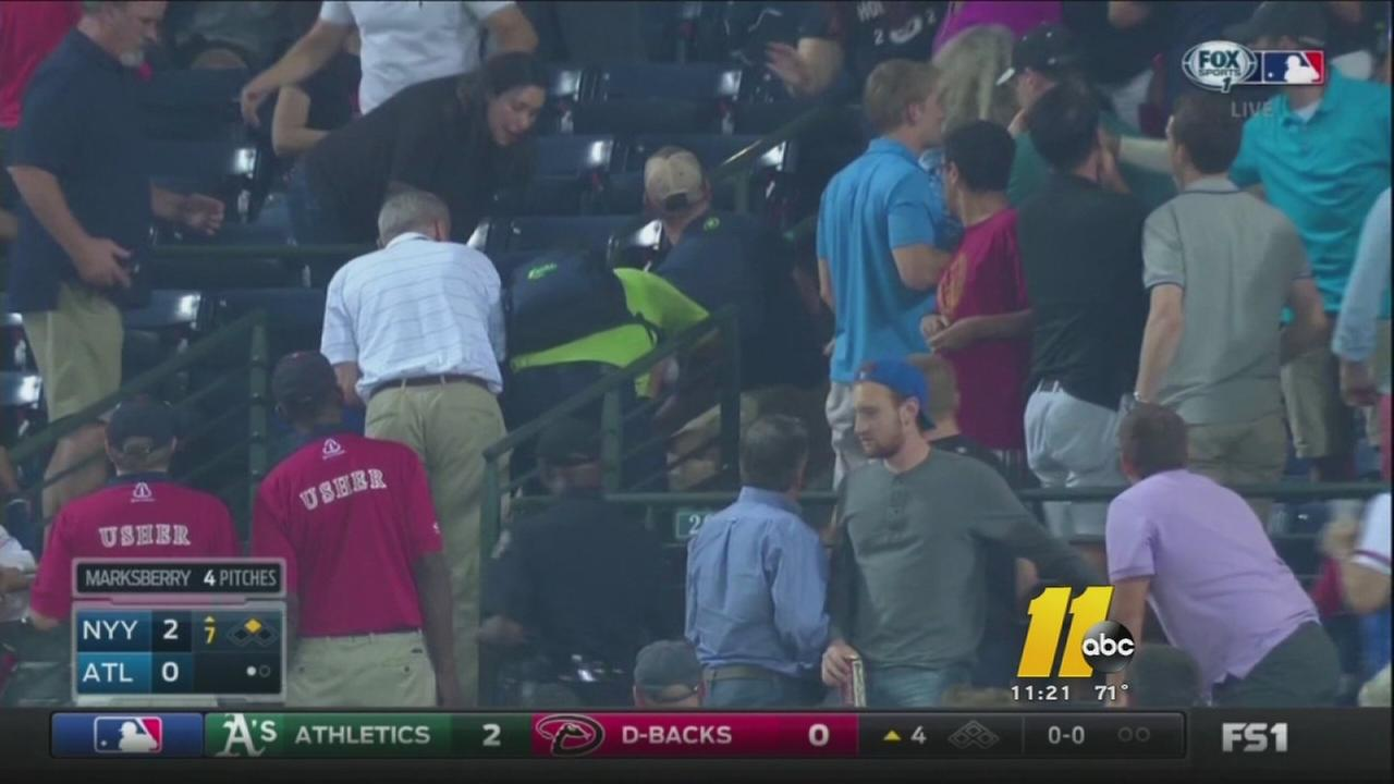 Fan dies at Braves game