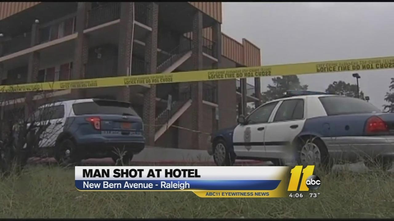 Gunman sought in Raleigh hotel shooting