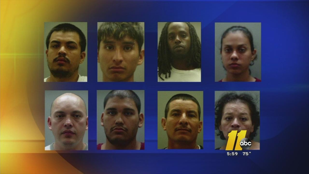 Major drug bust in Tarboro/Rocky Mount area