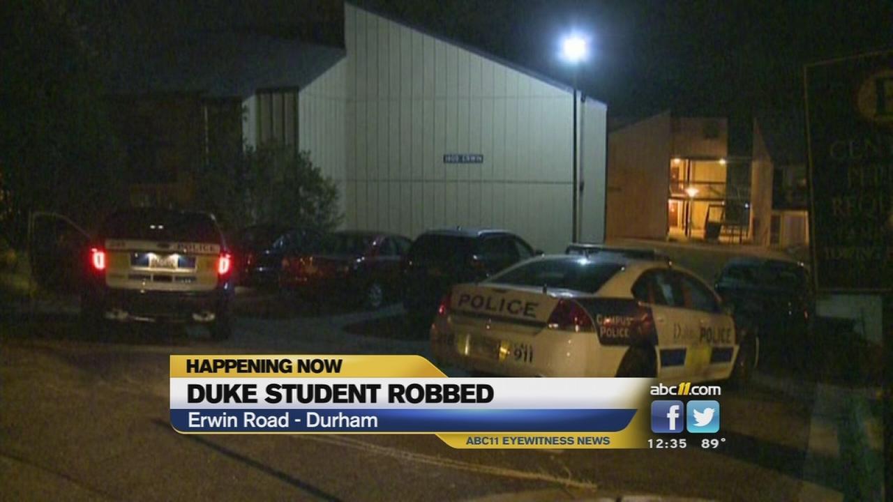 Duke student robbed