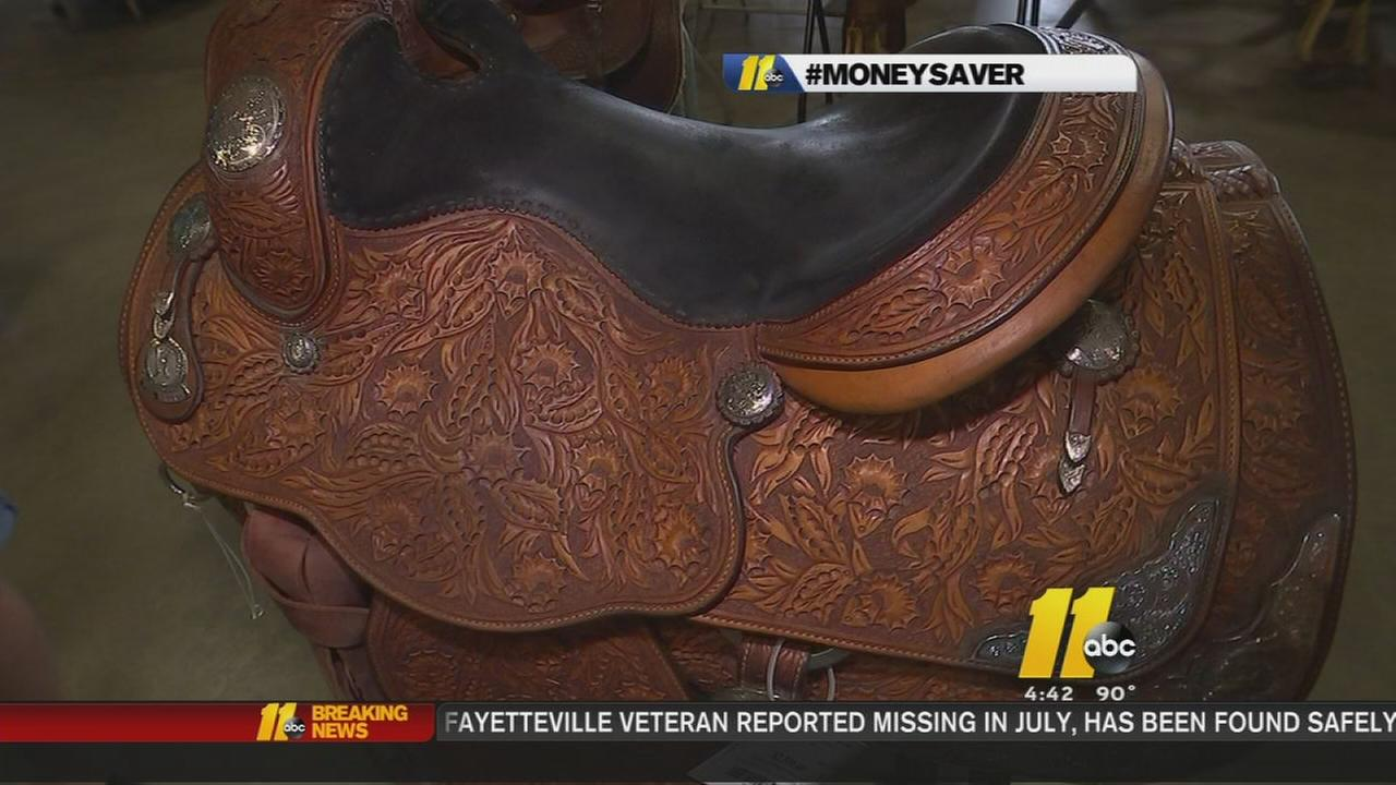 Equestrian consignment sale at NC Fairgrounds