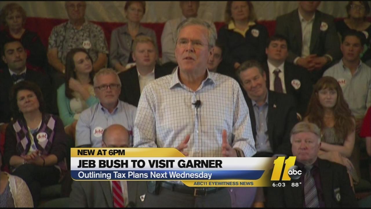 Jeb Bush to visit Gardner