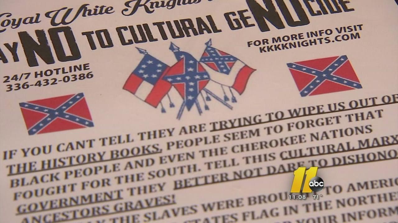 KKK targets Fayetteville police chief
