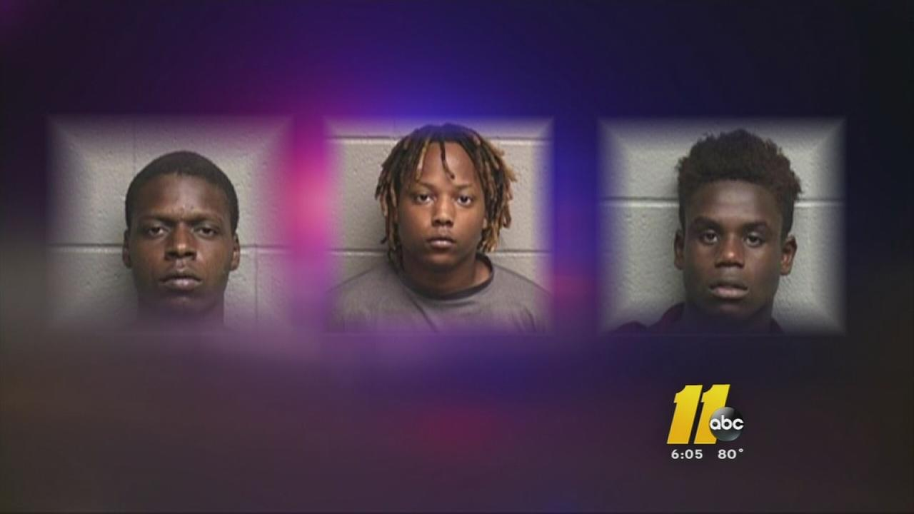 Teens on crime spree in Durham Co.
